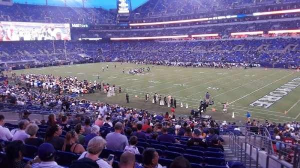 M&T Bank Stadium, sección: 148, fila: 34, asiento: 1