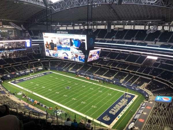 AT&T Stadium, sección: 406, fila: 25, asiento: 17