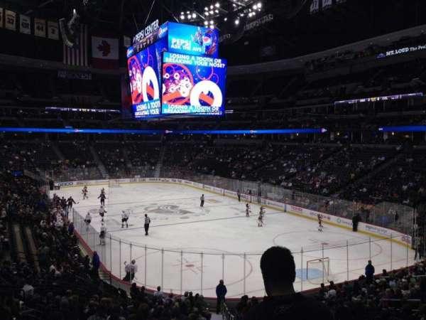 Pepsi Center, sección: 140, fila: 20, asiento: 1