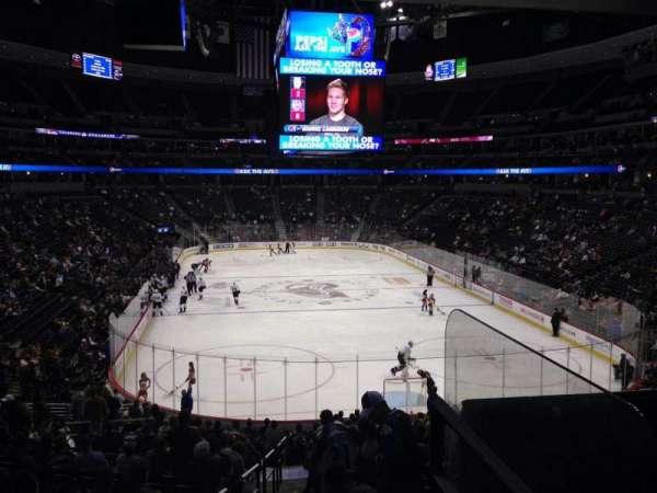Pepsi Center, sección: 138, fila: 20, asiento: 1