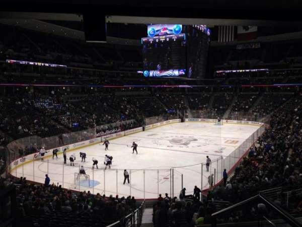 Pepsi Center, sección: 132, fila: 20, asiento: 1