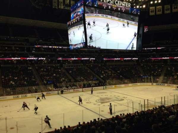 Pepsi Center, sección: 128, fila: 20, asiento: 1