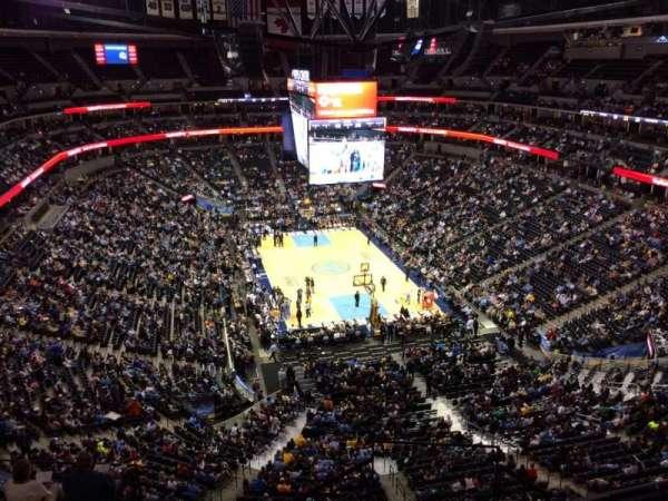 Pepsi Center, sección: 366, fila: 10, asiento: 10