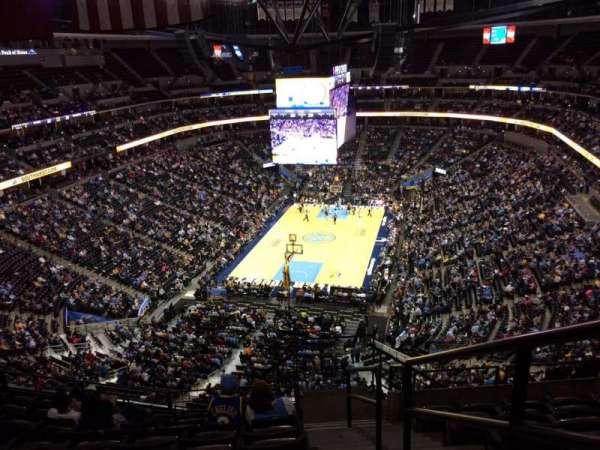 Pepsi center, sección: 320, fila: 12, asiento: 1