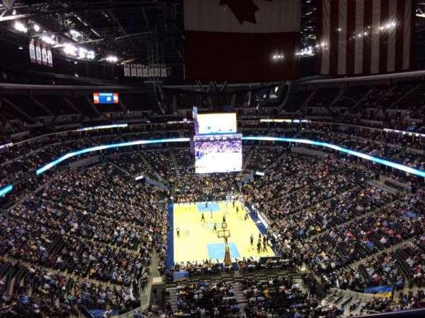 Pepsi Center, sección: 324, fila: 12, asiento: 1