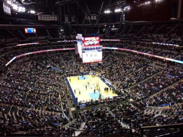 Pepsi Center, sección: 326, fila: 12, asiento: 1
