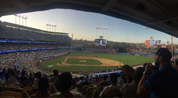 Dodger Stadium, sección: 122LG, fila: R, asiento: 4