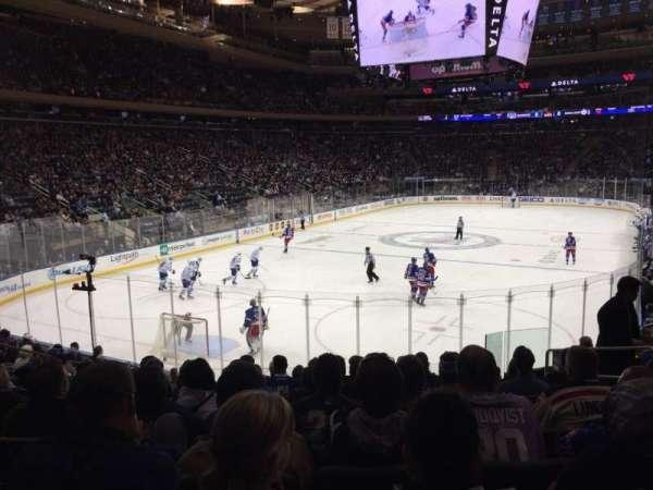 Madison Square Garden, sección: 103, fila: 14, asiento: 14