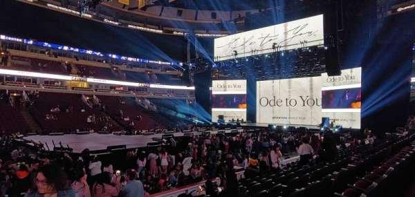 United Center, sección: 101, fila: 9, asiento: 20