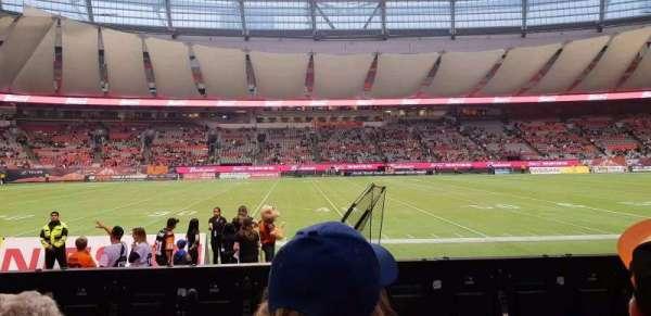 BC Place, sección: 242, fila: B, asiento: 108