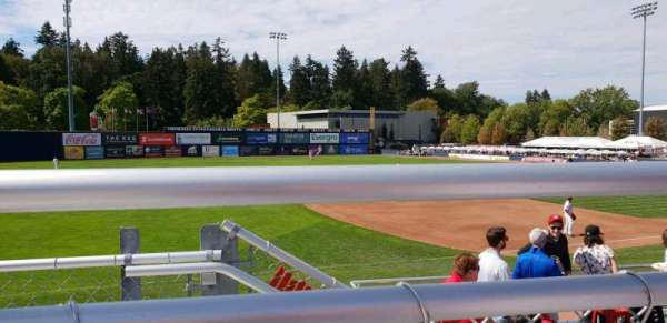 Nat Bailey Stadium, sección: 11, fila: 3, asiento: 15