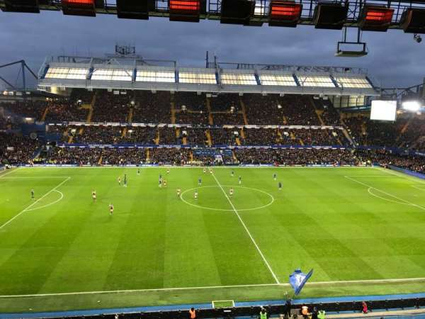 Stamford Bridge, sección: West Stand Upper 5, fila: 2, asiento: 134