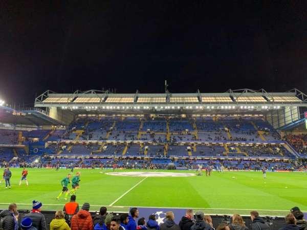 Stamford Bridge, sección: West Stand Lower 4, fila: 7, asiento: 101