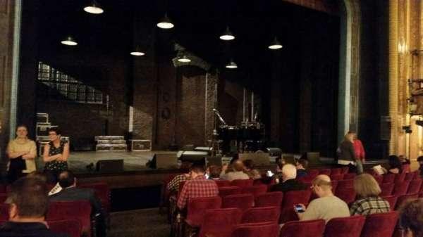 Walter Kerr Theatre, sección: Orch, fila: K, asiento: 1