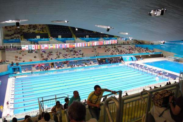 London Aquatics Centre, sección: 313, fila: 21, asiento: 162