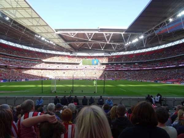 Wembley Stadium, sección: 133, fila: 9, asiento: 314