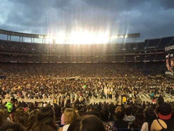 SDCCU Stadium, sección: 127, fila: 28, asiento: 10