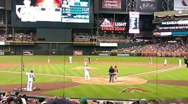 Chase Field, sección: K, fila: M, asiento: 5