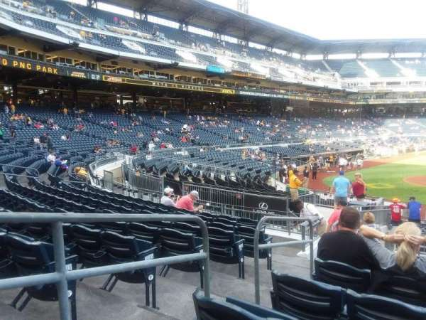 PNC Park, sección: 113, fila: J, asiento: 16