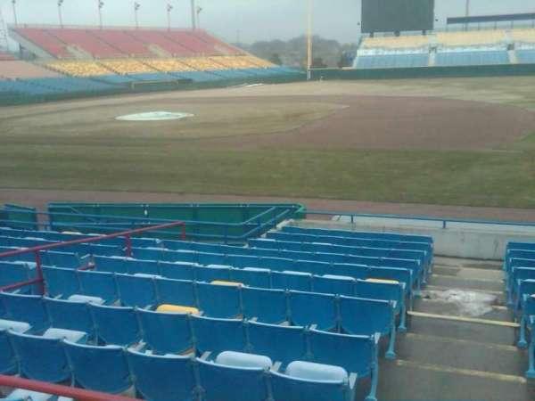 Rosenblatt Stadium, sección: 15, fila: A, asiento: 1