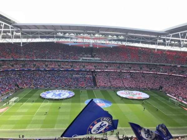 Wembley Stadium, sección: 501, fila: 13, asiento: 30
