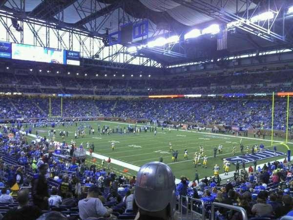 Ford Field, sección: 112, fila: 31, asiento: 23
