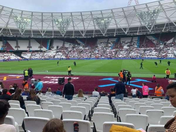 London Stadium, sección: 110, fila: 12 , asiento: 278