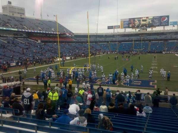 New Era Field, sección: 121, fila: 24, asiento: 13