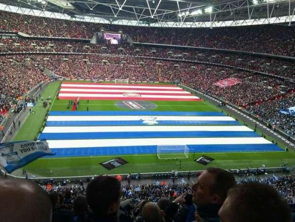 Wembley Stadium, sección: 541, fila: 11, asiento: 47