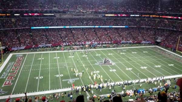 Georgia Dome, sección: 350, fila: 11, asiento: 14