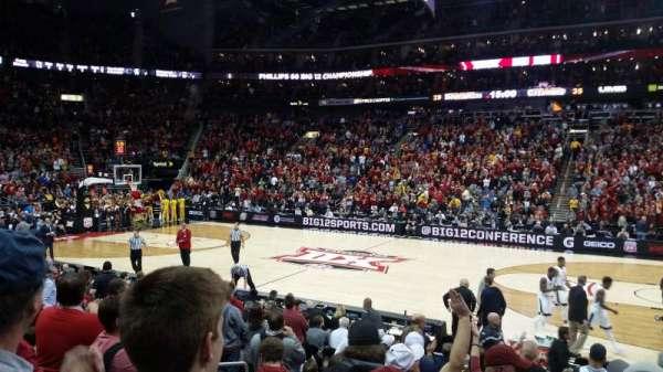 Sprint Center, sección: 105, fila: 10, asiento: 12