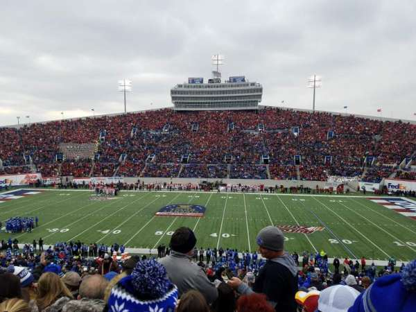 Liberty Bowl Memorial Stadium, sección: 119, fila: 50, asiento: 27