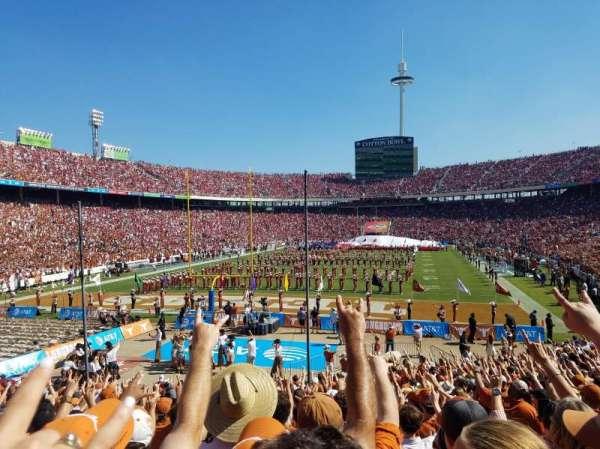 Cotton Bowl, sección: 14, fila: 26, asiento: 6