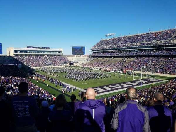 Bill Snyder Family Stadium, sección: 11, fila: 46, asiento: 1
