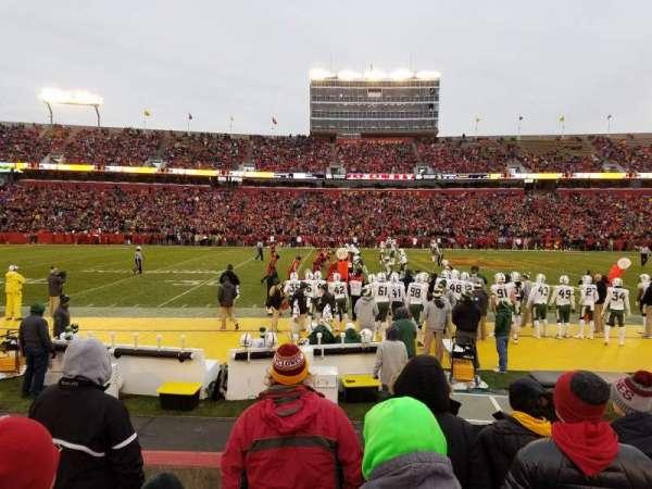 Jack Trice Stadium, sección: 32, fila: 6, asiento: 13