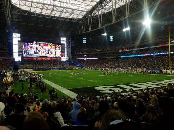 State Farm Stadium, sección: 122, fila: 16, asiento: 18