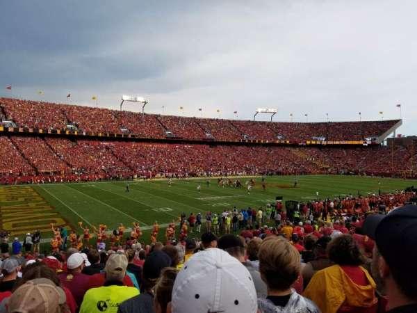 Jack Trice Stadium, sección: 3, fila: 25, asiento: 7