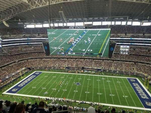 AT&T Stadium, sección: 411, fila: 18, asiento: 26