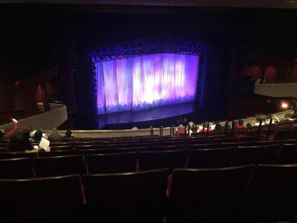 Marquis Theatre, sección: Mezzanine L, fila: M, asiento: 1