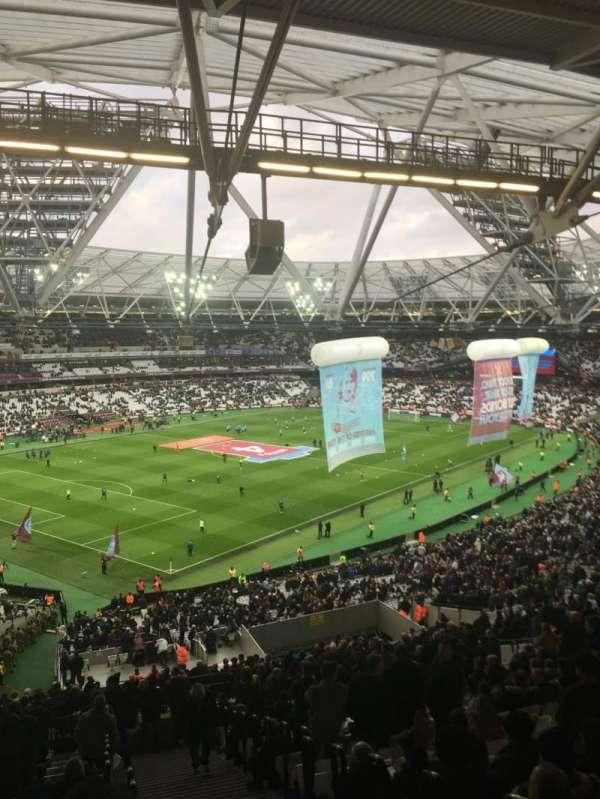 London Stadium, sección: 229, fila: 61