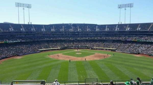 Oakland Coliseum, sección: 243, fila: 13, asiento: 3