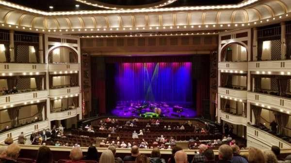 Mahaffey Theatre, sección: Balcony C, fila: 2, asiento: 1