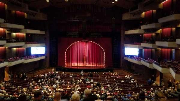 Carol Morsani Hall at the Straz, sección: Mezzanine, fila: E, asiento: 122