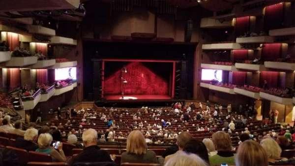 Carol Morsani Hall at the Straz, sección: Mezzanine, fila: F, asiento: 3