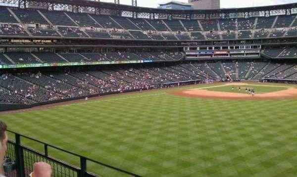 Coors Field, sección: 202, fila: 2, asiento: 4