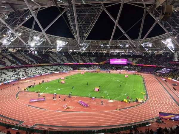 London Stadium, sección: 253, fila: 56, asiento: 789