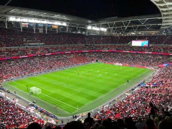 Wembley Stadium, sección: 508, fila: 11, asiento: 221