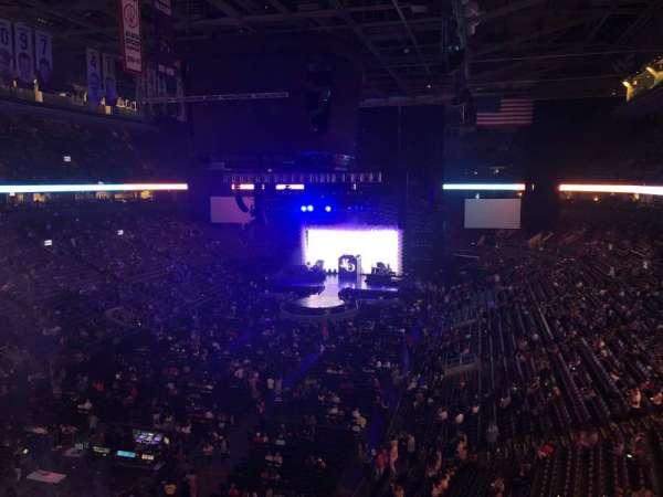 Scotiabank Arena, sección: 301, fila: 1, asiento: 23