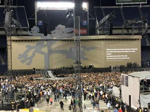 SDCCU Stadium, sección: P19, fila: 16, asiento: 8