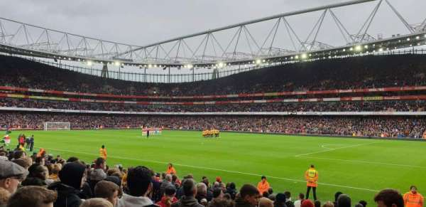 Emirates Stadium, sección: 29, fila: 15, asiento: 918